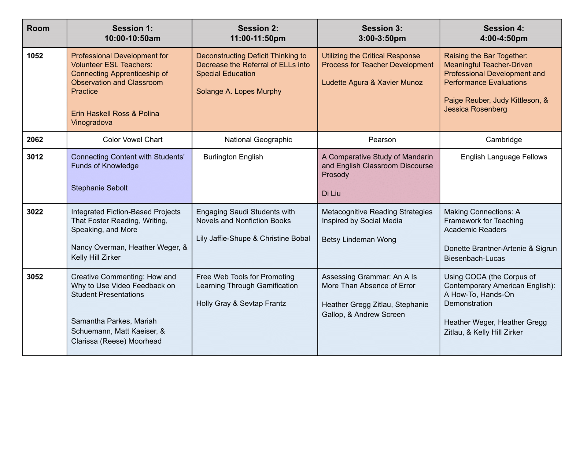 Washington dc area tesol watesol sessions and schedule download a printable pdf of the schedule nvjuhfo Choice Image